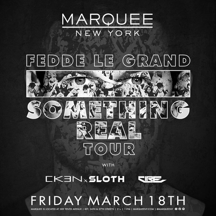 Official Site of Marquee New York Nightclub :: Fedde Le Grand
