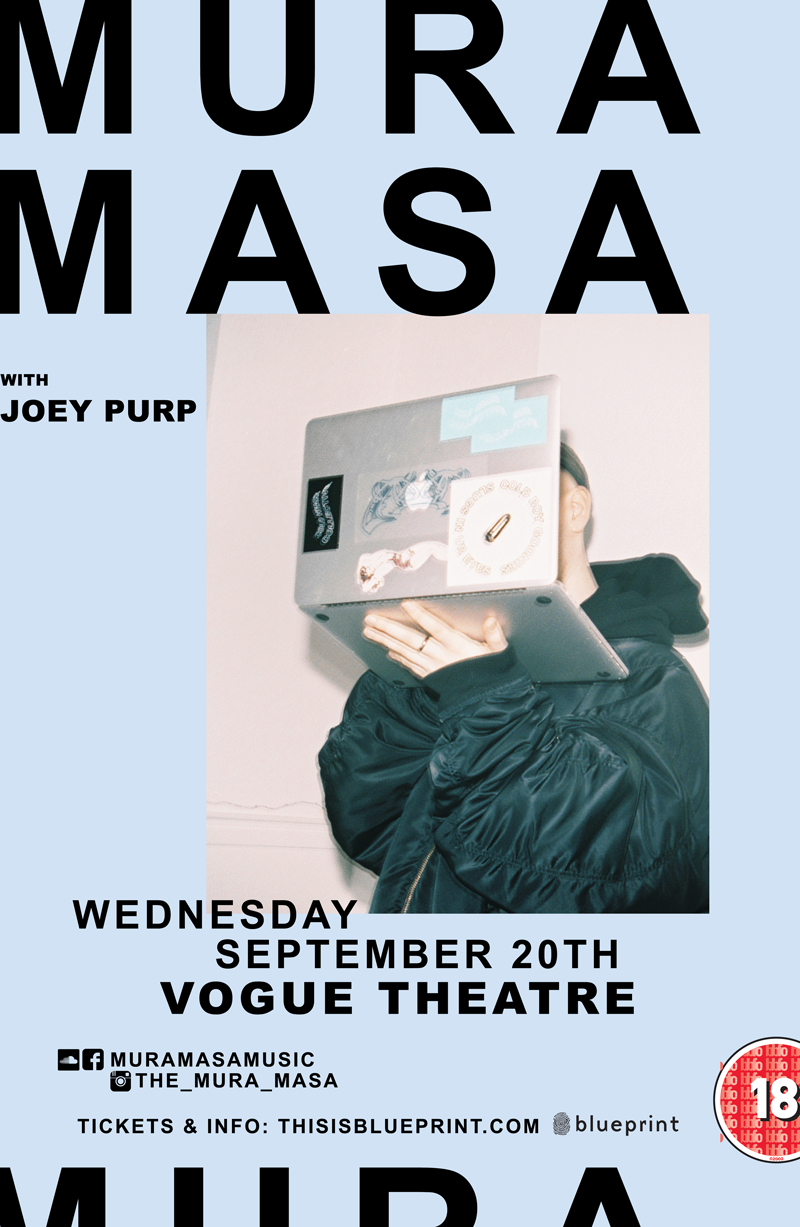 Blueprint events mura masa vogue theatre mura masa vogue theatre malvernweather Images