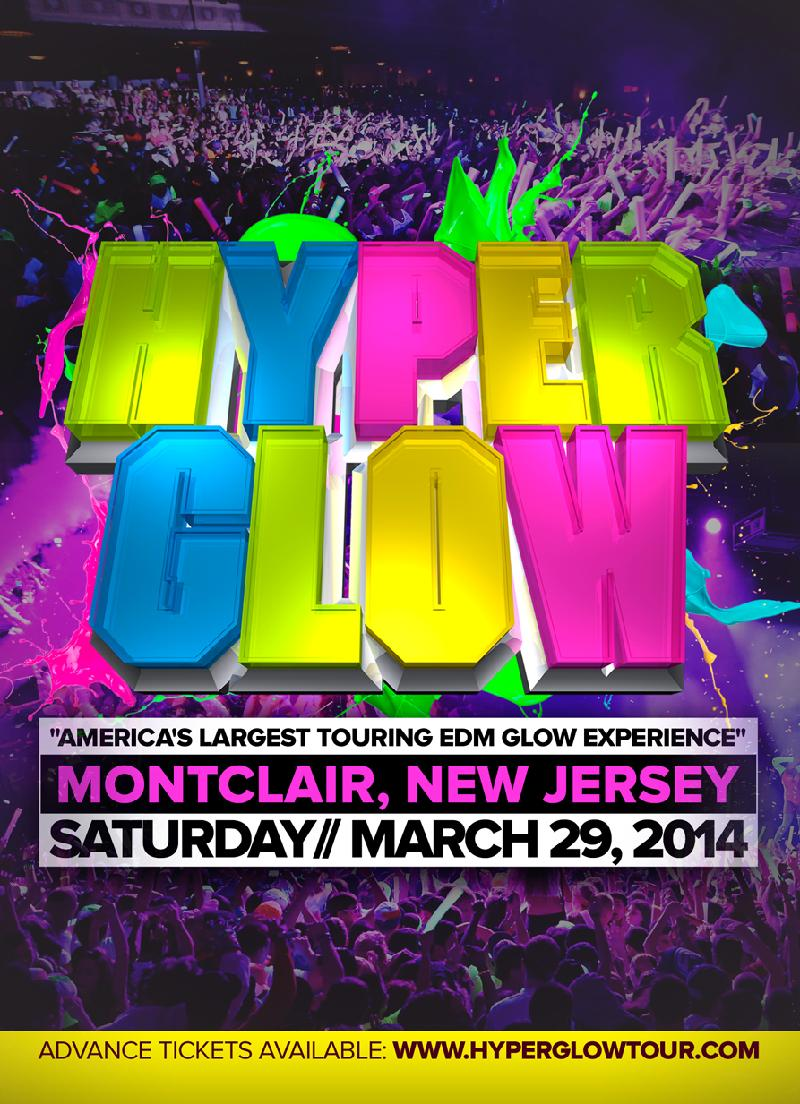 HYPERGLOW Tour Montclair NJ Americas Largest EDM Glow Experience