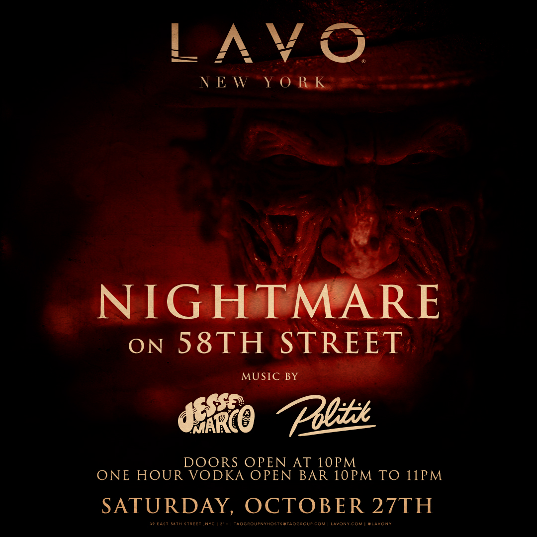 LAVO New York Upcoming Events - Table reservations nyc