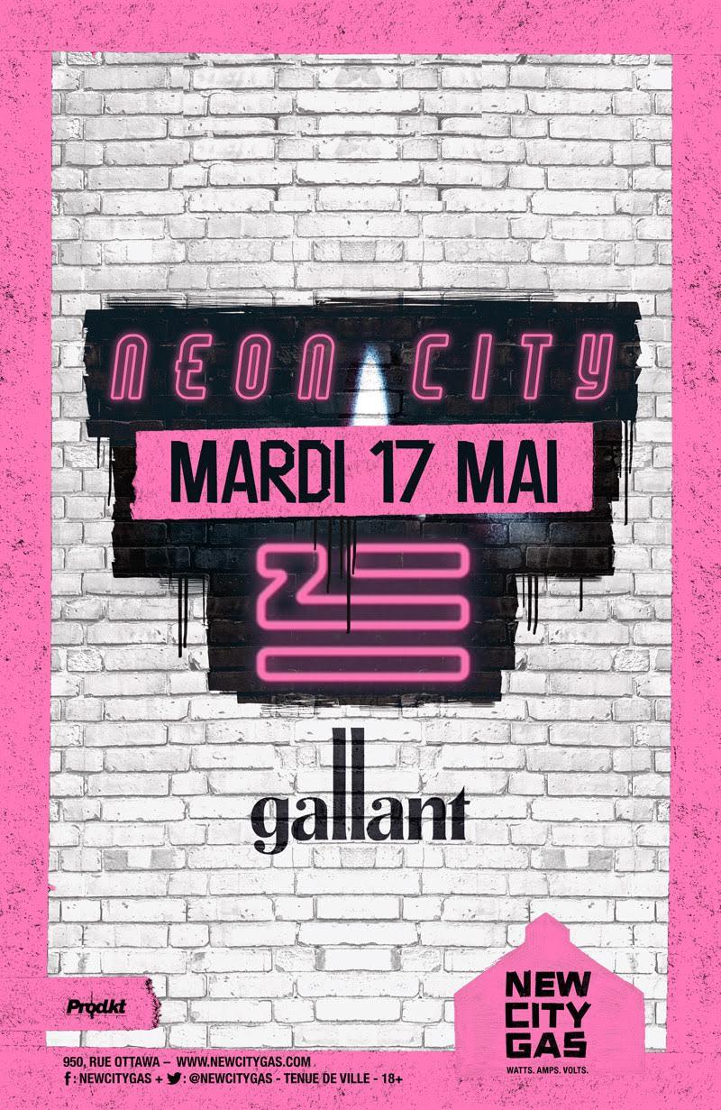 ZHU + Gallant au New City Gas | 20h - 24h | Mardi 17 Mai ...