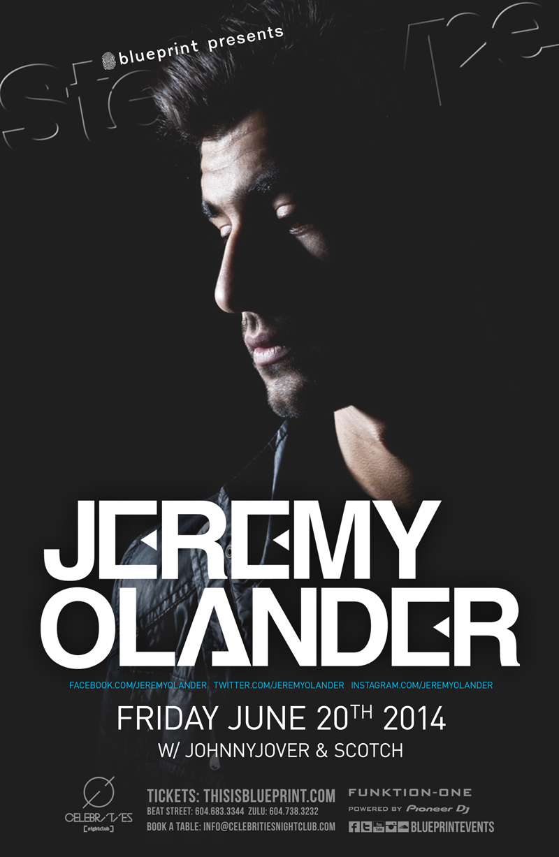 Blueprint events jeremy olander stereotypefridays celebrities performing artists click on artist for reviews and previews malvernweather Gallery