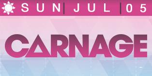 Carnage Las vegas 4th of July