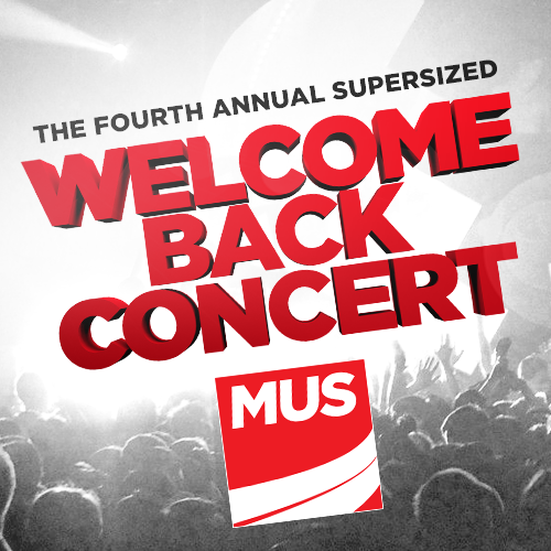 MUS Welcome Back Concert