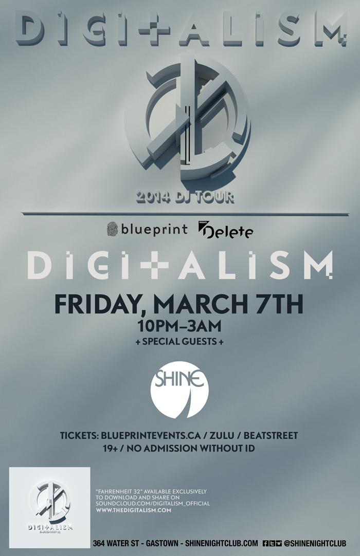 Blueprint events digitalism shine nightclub digitalism shine nightclub malvernweather Choice Image