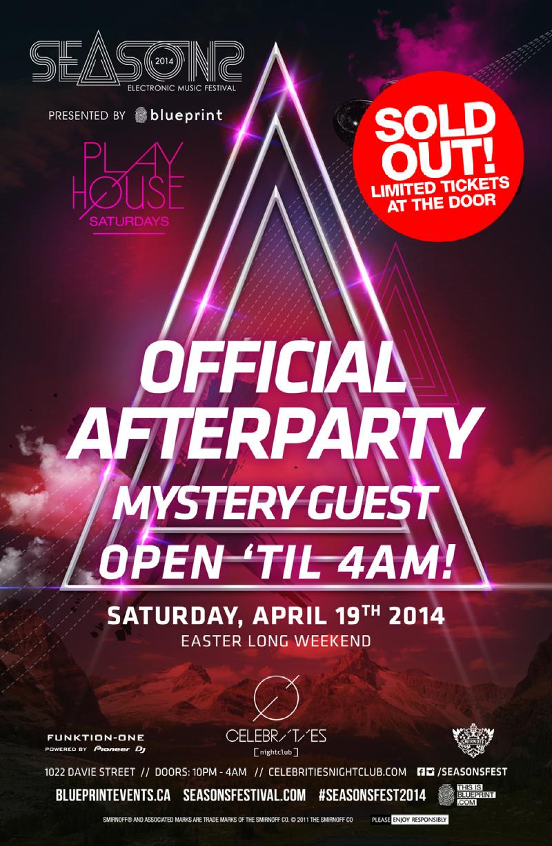 Blueprint events sold out special mystery guest seasons sold out special mystery guest seasons festival afterparty celebrities malvernweather Gallery
