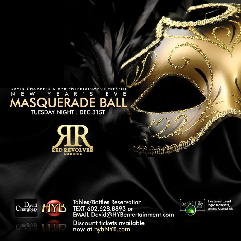 HYB's New Year's Eve Masquerade Ball :: Electrostub BPS