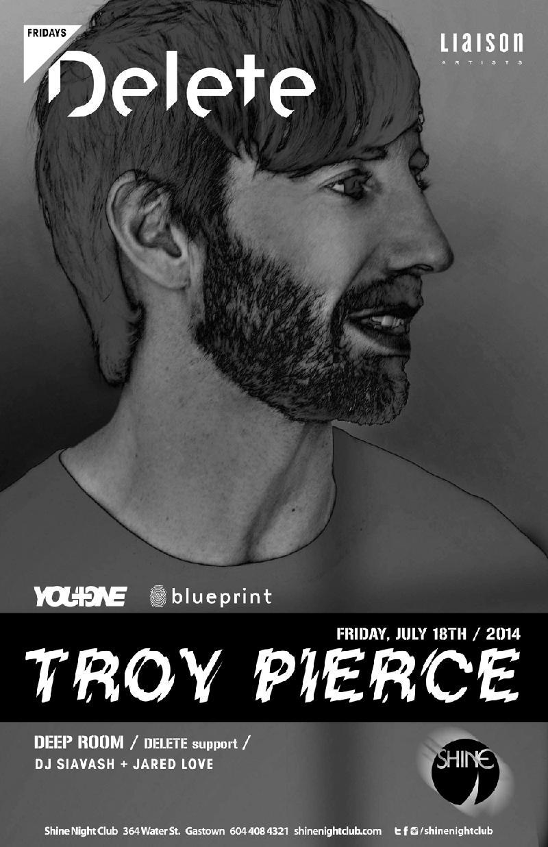 Blueprint events troy pierce deletefridays shine purchase tickets malvernweather Choice Image