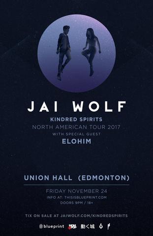 Blueprint alberta jai wolf union hall edmonton purchase tickets malvernweather Choice Image