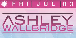 Ashley Wallbridge 4th of July Las Vegas