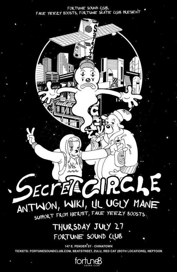 SECRET CIRCLE ft LIL UGLY MANE, ANTWON & WIKI - Fortune