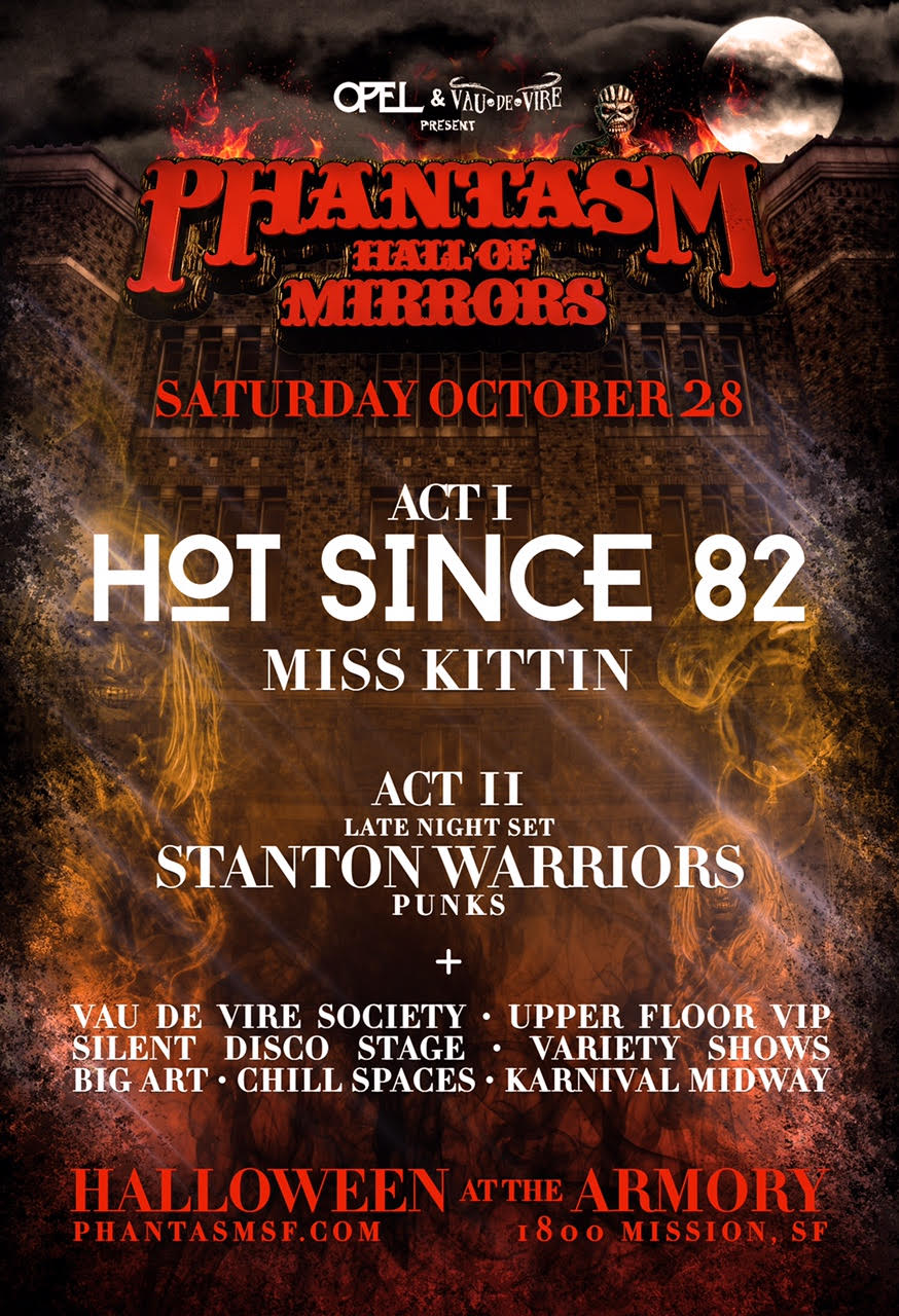 Phantasm 2017 halloween at the armory 39 the hall of - The armory show tickets ...