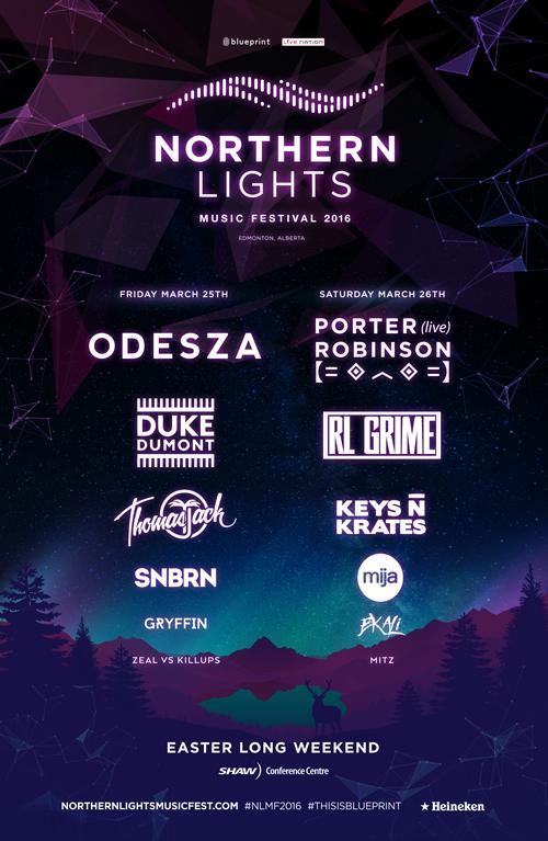 Blueprint alberta northern lights music festival 2016 shaw purchase tickets malvernweather Gallery