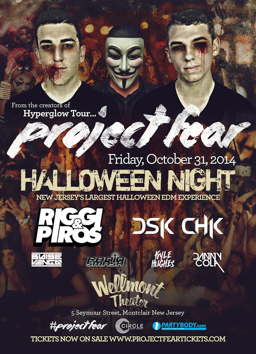 Project Fear Halloween Night New Jerseys Largest Halloween EDM Party