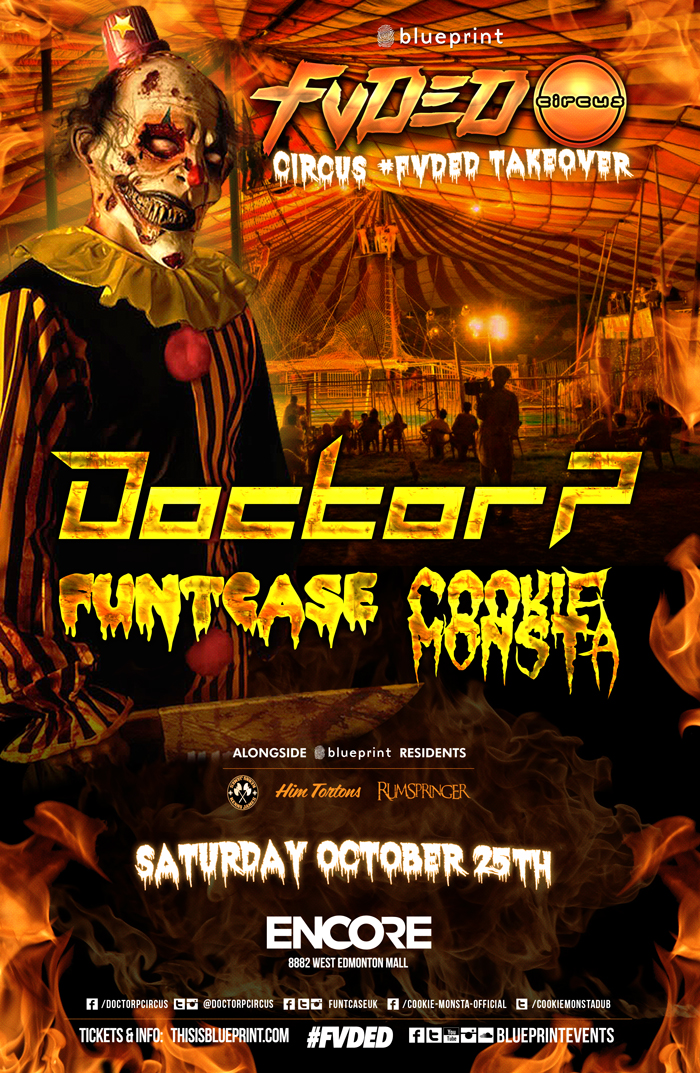 Blueprint events doctor p funtcase cookie monsta fvded purchase tickets malvernweather Choice Image