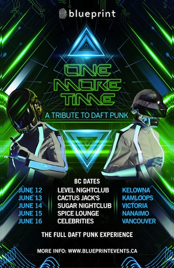 Blueprint events one more time a tribute to daft punk purchase tickets malvernweather Gallery