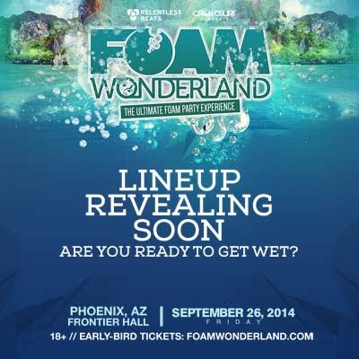 Foam Wonderland  Frontier Hall