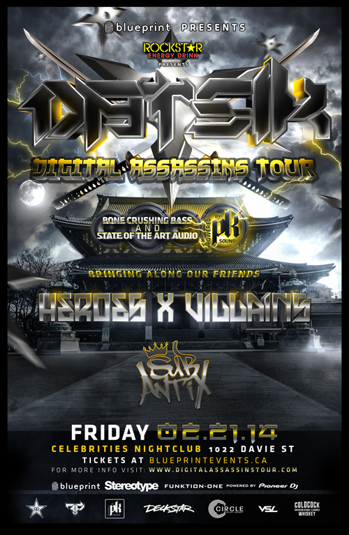 Blueprint events datsik w heroes x villains sub antix performing artists click on artist for reviews and previews malvernweather Images