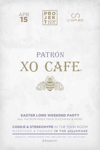 Blueprint events projekt patron xo easter long weekend sapphire projekt patron xo easter long weekend sapphire malvernweather Images