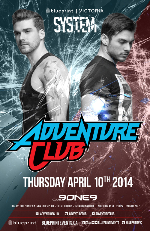 Blueprint events adventure club systemvic club 9one9 malvernweather Gallery