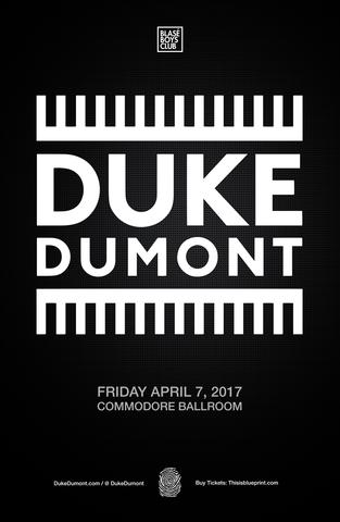 Blueprint events duke dumont commodore duke dumont commodore malvernweather Gallery