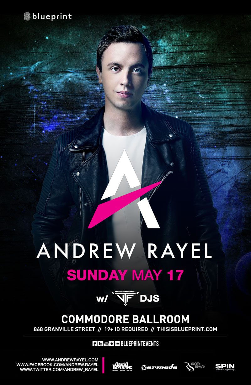 Blueprint events andrew rayel commodore purchase tickets malvernweather Images