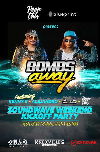 Blueprint alberta soundwave weekend kick off party knoxvilles purchase tickets malvernweather Gallery