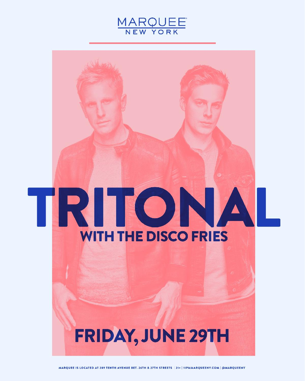 0e1055aafdc Official Site of Marquee New York Nightclub :: Tritonal
