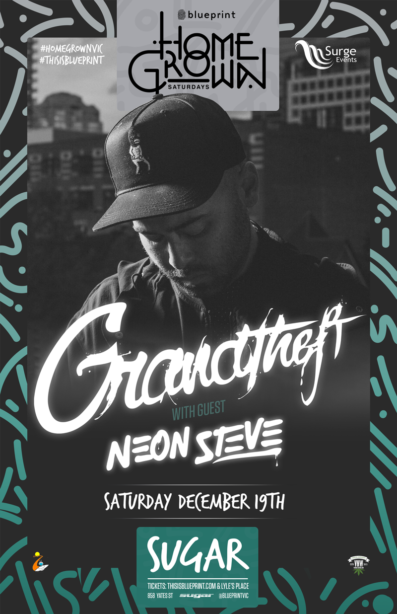 Blueprint events grandtheft w neon steve homegrownvic sugar share with your friends malvernweather Image collections