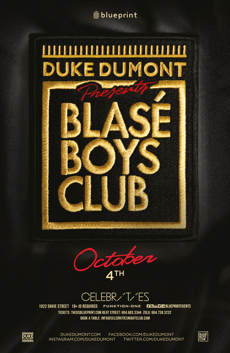 Blueprint events duke dumont celebrities malvernweather