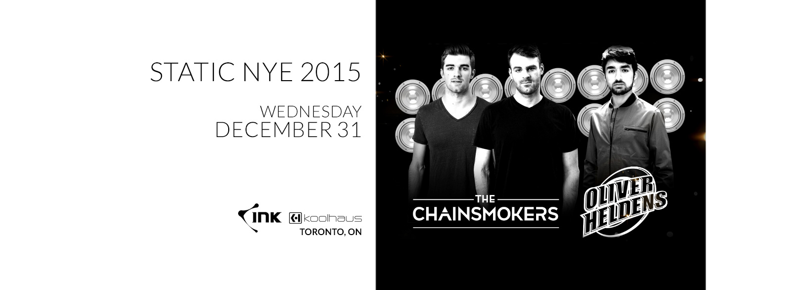 The Chainsmokers & Oliver Heldens @ Kool Haus
