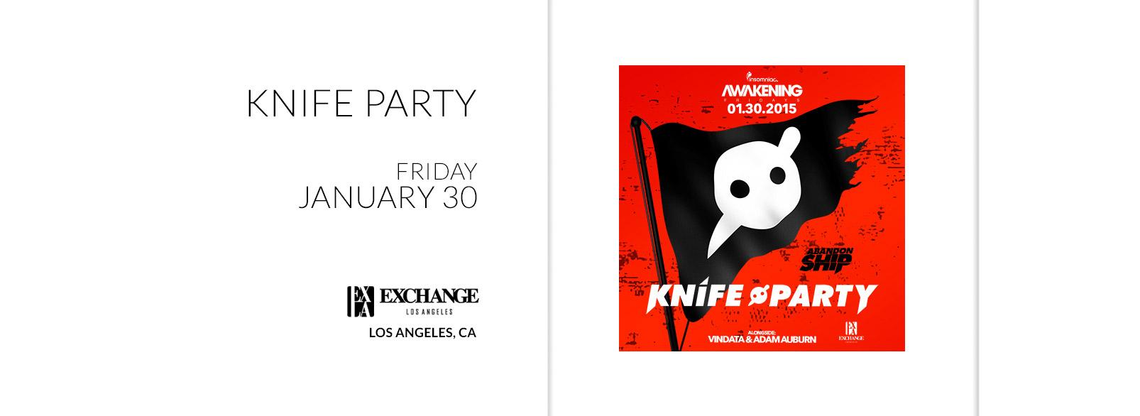 Knife Party @ Exchange LA