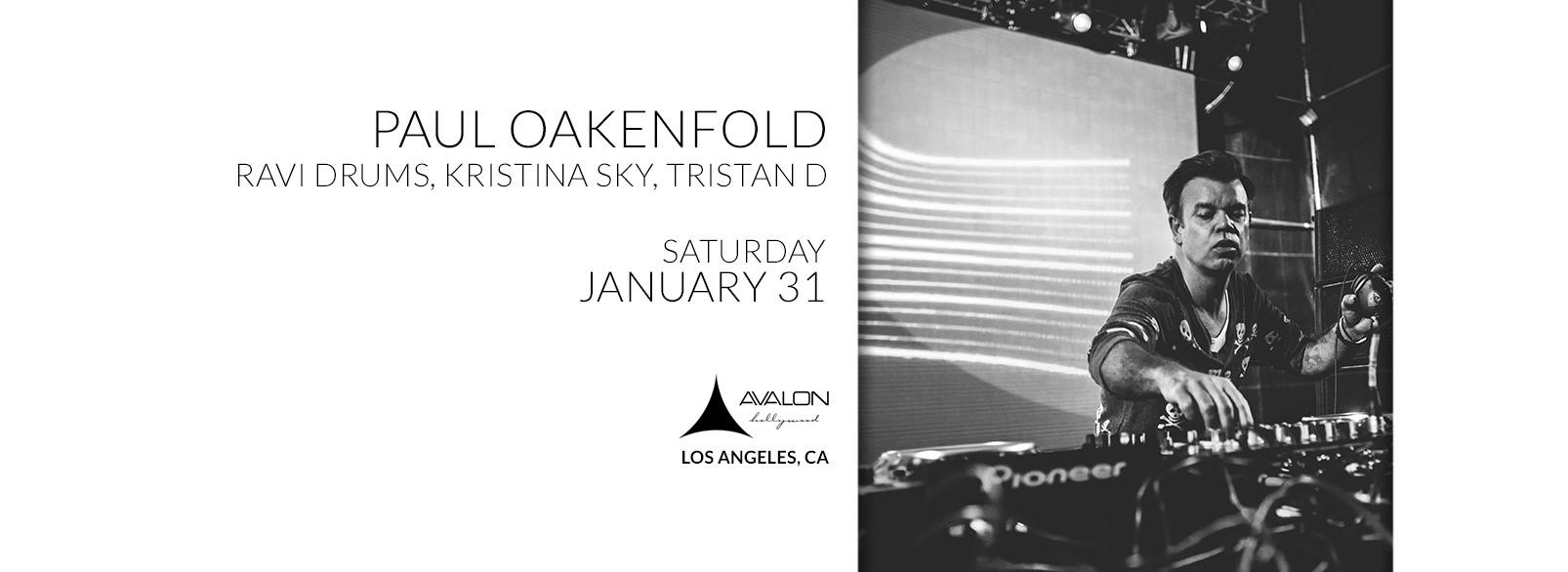 Paul Oakenfold @ Avalon Hollywood