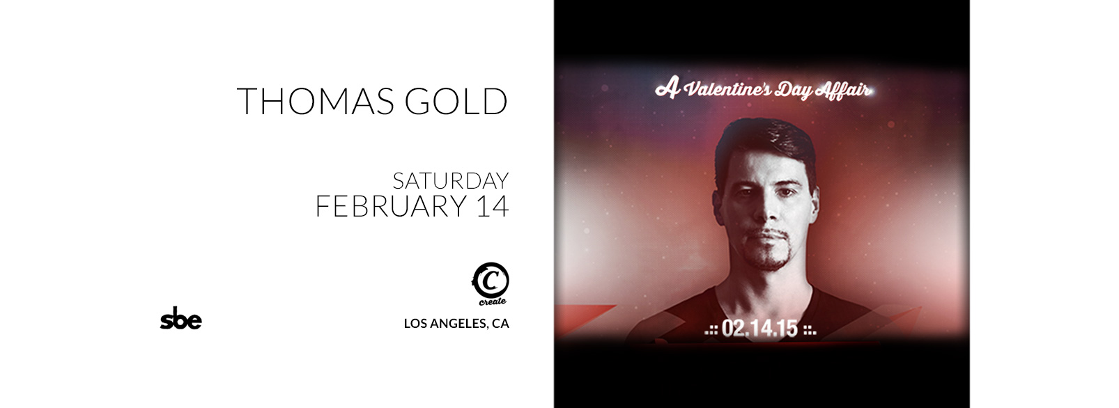 Thomas Gold @ Create Nightclub