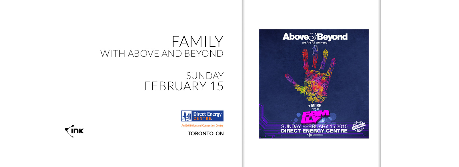 Above & Beyond @ Direct Energy Centre