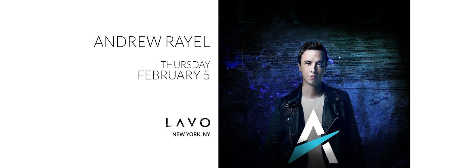 Andrew Rayel @ Lavo New York
