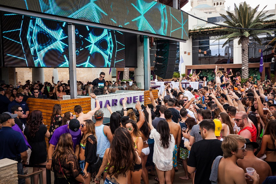 memorial day weekend at marquee dayclub in las vegas