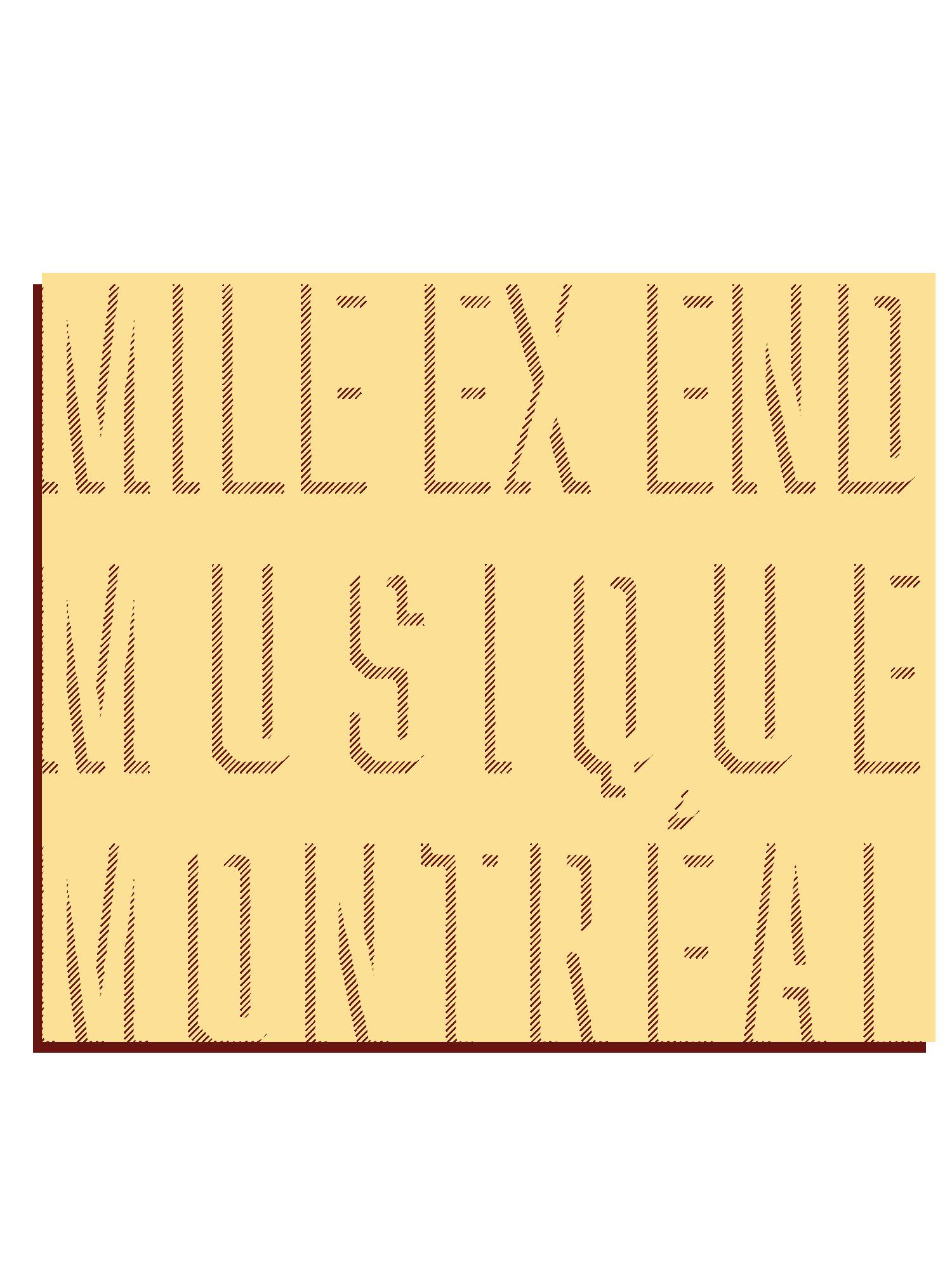 Mile ExEnd Musique Montréal