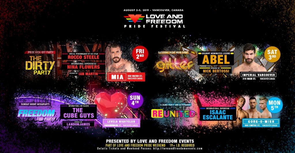 GLITTER: The Main Event - Vancouver Pride Festival :: LOVE
