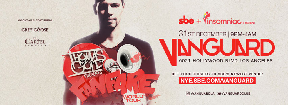 Dancing Astronaut's New Year's Eve 2013 Round UpThomas Gold Timeline