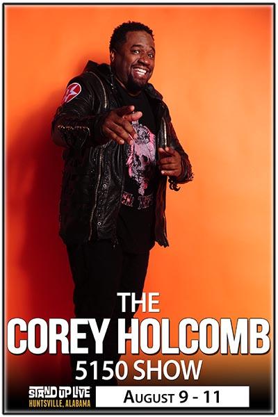 corey holcomb on bet live