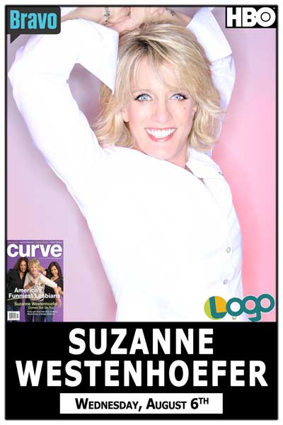 Suzanne Westenhoefer seen on LOGO, Bravo, HBO and much more at Zanies Comedy Club Nashville Wednesday, August 6, 2014