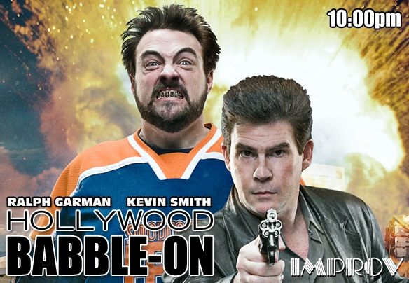 HOLLYWOOD BABBLEON with KEVIN SMITH  RALPH GARMAN