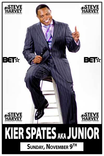 Kier Spates aka Junior Live from the Steve Harvey Morning Show Sunday, November 9, 2014 at Zanies Comedy Club Nashville