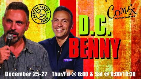 DC BENNY  4 Shows  December 2527