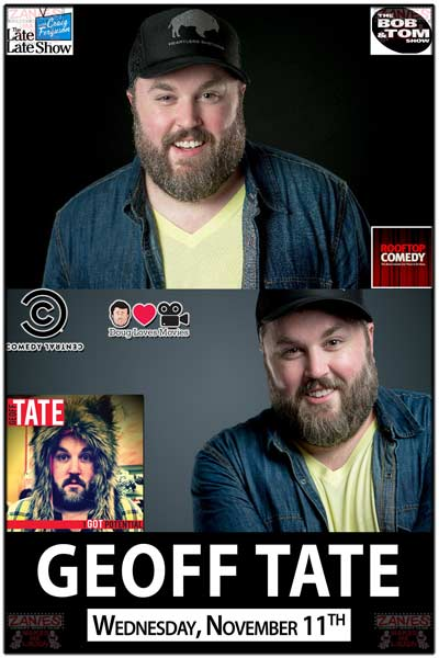 Geoff Tate Wednesday, Nove 11, 2015 live at Zanies comedy club Nashville