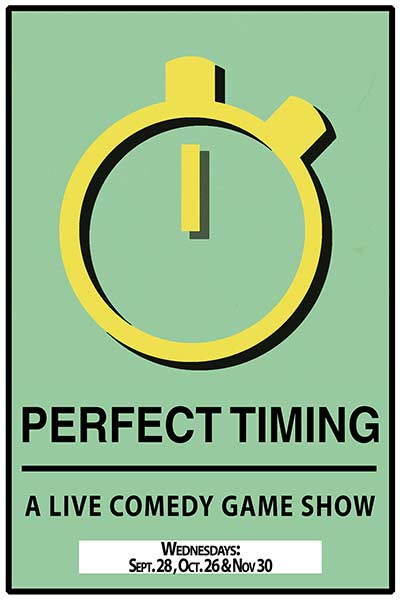 Perfect Timing: A Live Comedy Game Show live at Zanies Comedy Club Nashville on Wednesdays: Sept. 28, Oct. 26 and Nov.30, 2016