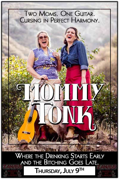 Mommy Tonk live at Zanies Comedy Club Nashville Thursday, July 9, 2015