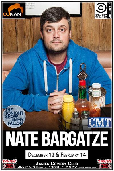 Nate Bargatze LIVE at Zanies Wednesday, October 18, 2017