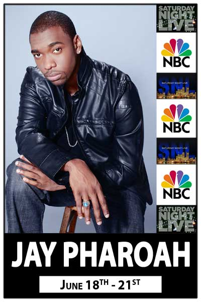 Jay Pharoah from NBCs Saturday Night Live at Zanies Comedy Club Nashville June 18-21, 2015